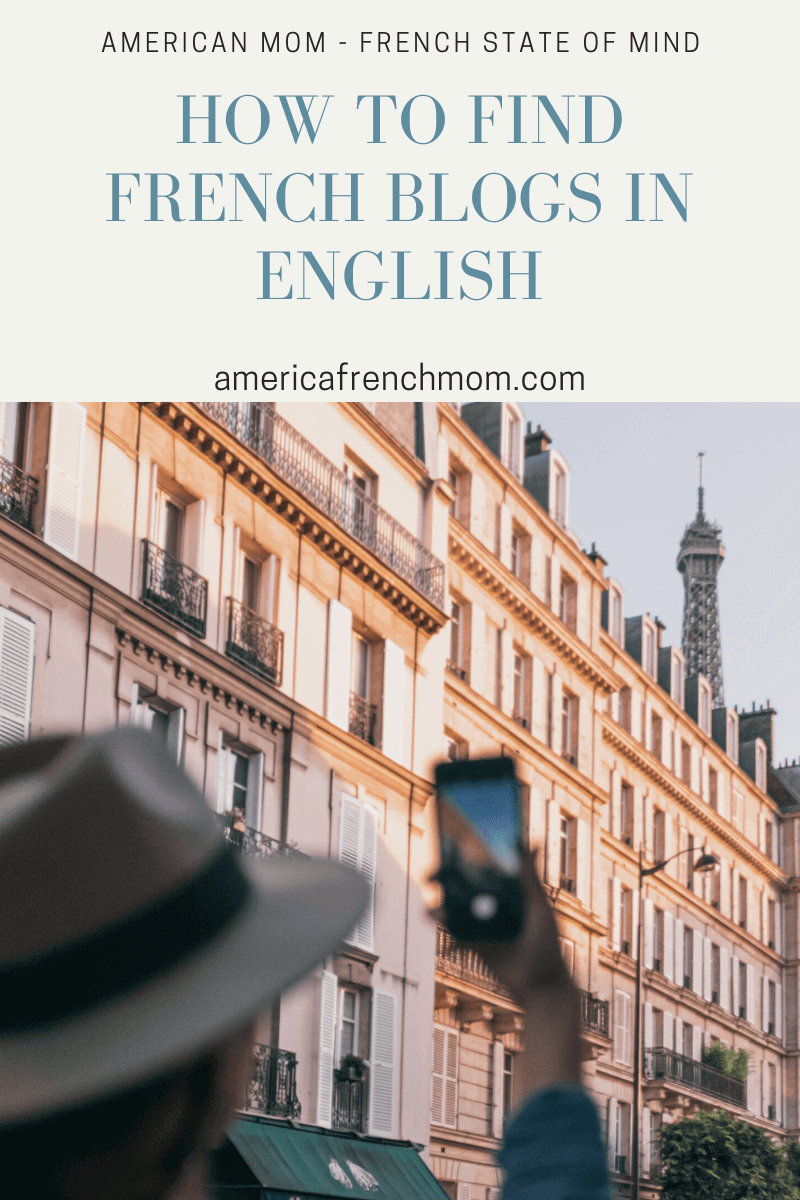 Finding French blogs written in English