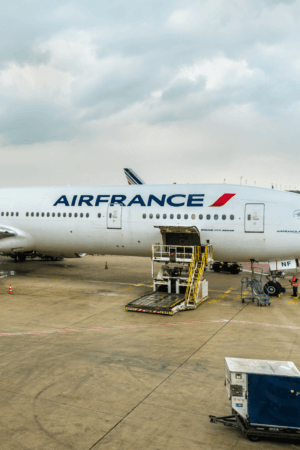 Moving apartments this year using Air France